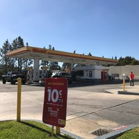 Photo taken at Shell by Lena K. on 1/25/2017