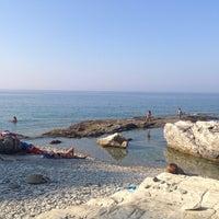 Photo taken at Kalamaki by Kleopatra K. on 8/16/2014
