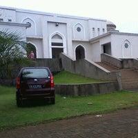 Photo taken at Masjid Nur Asmaul Husna by Reza A. on 4/7/2013