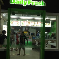 Photo taken at Daily Fresh by Kaira S. on 2/8/2013