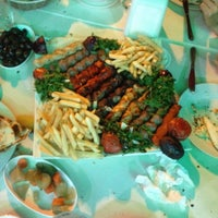 ... Photo taken at Jabal Lebnan Restaurant by Levent B. on 11/30/2015 ...