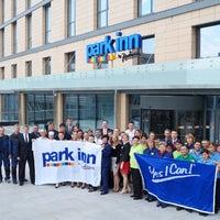 Photo taken at Park Inn by Radisson Pulkovo Airport by Park Inn by Radisson Pulkovo Airport on 8/4/2014