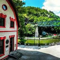 Photo taken at Eco hostel Republik by Jenna D. on 6/19/2015