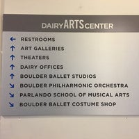 Photo taken at The Dairy Center for the Arts by Hannah C. on 5/24/2017