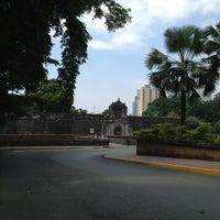 Снимок сделан в Fort Santiago пользователем Serena L. 3/12/2013