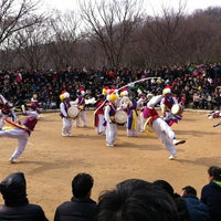 Photo taken at Korean Folk Village by Inhye P. on 2/24/2013