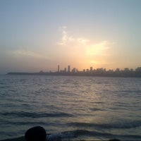 Photo taken at Marine Drive by Mihir P. on 4/27/2013