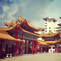 Photo taken at Thean Hou Temple (天后宫) by Sylistic on 11/29/2012