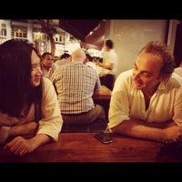Photo taken at Brotzeit German Bier Bar & Restaurant by David T. on 8/28/2013