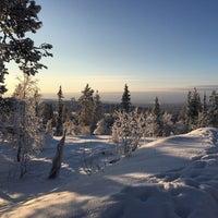 Photo taken at Ylläs maisematien näköalapaikka by Ludmila S. on 2/1/2018