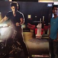 Photo taken at Jagadamba Theater by Naveen S. on 1/12/2014