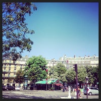 Photo taken at Place des Ternes by Clement B. on 7/20/2013