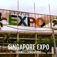 Photo taken at Singapore EXPO by Marcus H. on 3/29/2013