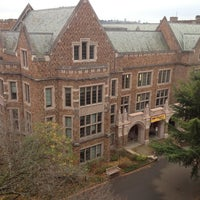 Photo taken at UW: Allen Library by Michael E. on 11/11/2012