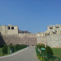 Photo taken at Golconda Fort by Ahmad Z. on 11/13/2012