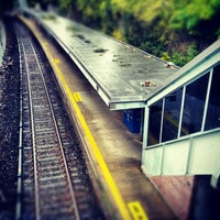 Photo taken at Metro North - Pleasantville Train Station by Kevin M. on 10/12/2012