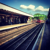 Photo taken at South Woodford London Underground Station by Katie H. on 5/10/2013
