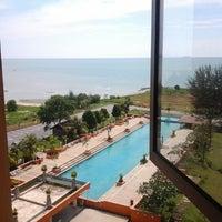 Photo taken at Mayang Sari Resort by Fiza B. on 1/26/2013