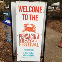 Photo taken at Pensacola Seafood Festival by LeRoy P. on 9/28/2012