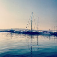 Photo taken at Flisvos Marina by AИNА O. on 4/25/2013
