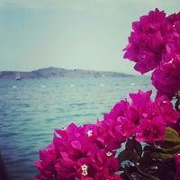 Photo taken at Lavinya Otel & Beach by Özge T. on 7/11/2015