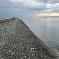 Foto tomada en Самый южный пляж России por Dmitry N. el 11/7/2017