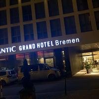 Photo taken at Atlantic Grand Hotel Bremen by Jay F Kay on 9/22/2017