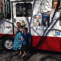 Photo taken at Kustard King Soft Ice Cream Truck by Traci F. on 4/12/2014