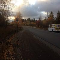 Photo taken at вытегорское шоссе by Victoria Y. on 10/16/2014