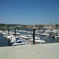Photo taken at Douro Marina by Carlos B. on 5/12/2013