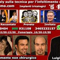 Photo taken at LuigiUomo infoltimento capelli by Centro Infoltimento L. on 8/3/2014