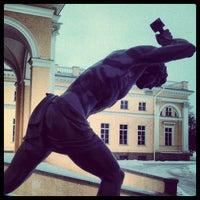 Снимок сделан в Александровский дворец пользователем EatBetter.ru 1/4/2013