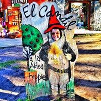 Photo taken at Aldea Hippie by Nicolàs G. on 4/12/2013