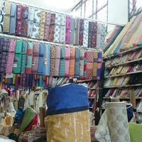 Photo taken at Safique's (The Fabric Shop) by Julia C. on 5/6/2015