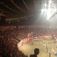 Photo taken at SEF - Peace & Friendship Stadium by Kostas P. on 4/26/2013