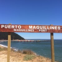 Photo taken at Playa Maguellines by Endeaboot on 3/4/2014