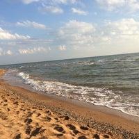 Photo taken at Побережье Азовского моря by Vitaliy K. on 7/11/2014