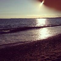 Photo taken at Пляж Айтар | აიტარის პლიაჟი by Vitaliy K. on 7/24/2013