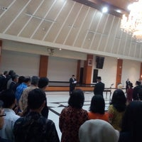 Photo taken at Gedung Krida Bhakti Sekretariat Negara by Achmad G. on 7/4/2014
