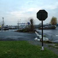 Photo taken at Parking Carrefour by Joel C. on 11/28/2012