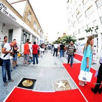 Photo taken at Cyprus Walk of Fame by Макс Я. on 8/5/2014