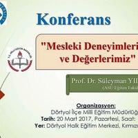 Photo taken at Dörtyol İlçe Milli Eğitim Müdürlüğü by Yasemin Y. on 3/20/2017