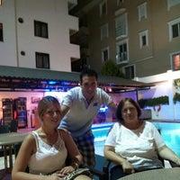 Photo taken at Tuntas Hotel Swimming Pool by Tuna K. on 8/23/2014