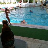 Photo taken at Tuntas Hotel Swimming Pool by Tuna K. on 8/24/2014