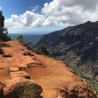 Photo taken at Halemanu Cliff Trail Lookout by Brian L. on 9/13/2017
