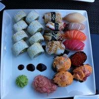 Photo taken at Silk Sushi Bar by Marja K. on 7/28/2013
