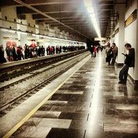 Photo taken at Metro Ermita by Inti J. on 1/22/2013