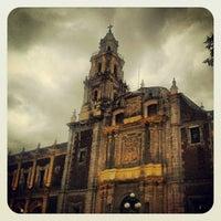 Photo taken at Plaza de Santo Domingo by Inti J. on 11/6/2012
