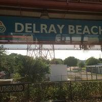 Photo taken at Tri-Rail - Delray Beach Station by Stepan G. on 5/13/2016