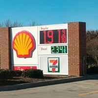 Photo taken at Shell by Nicholas M. on 12/19/2015